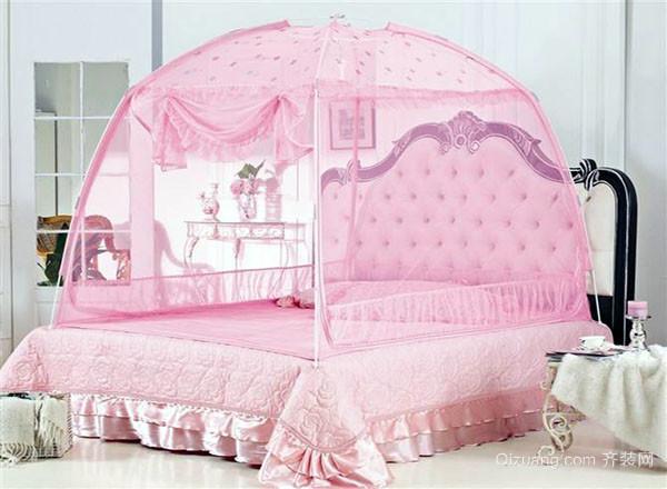 蚊帐安装与折叠方法 超级实用