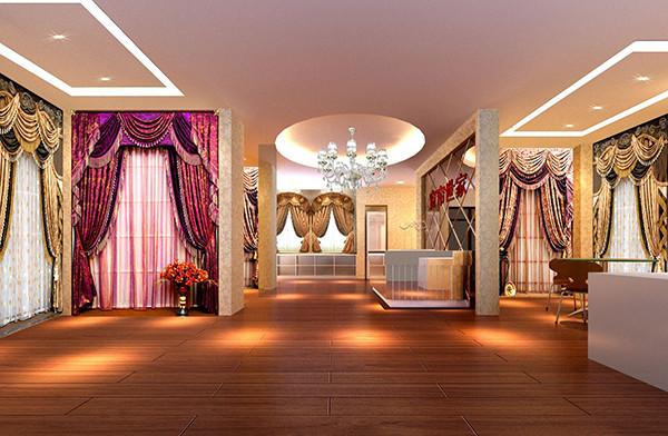 窗帘展厅设计要点