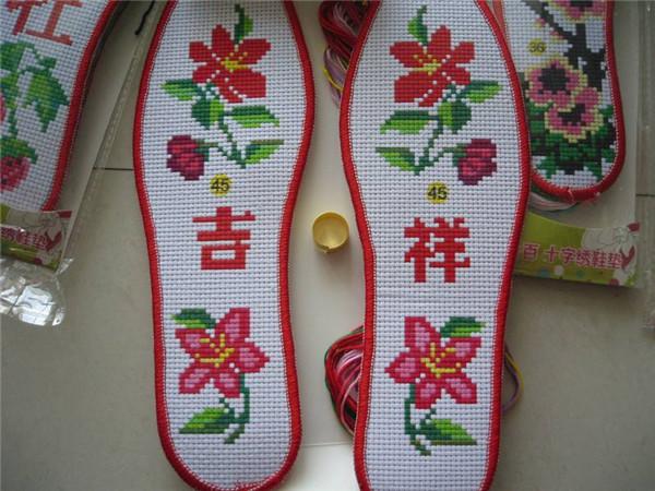十字绣鞋垫绣法有哪些
