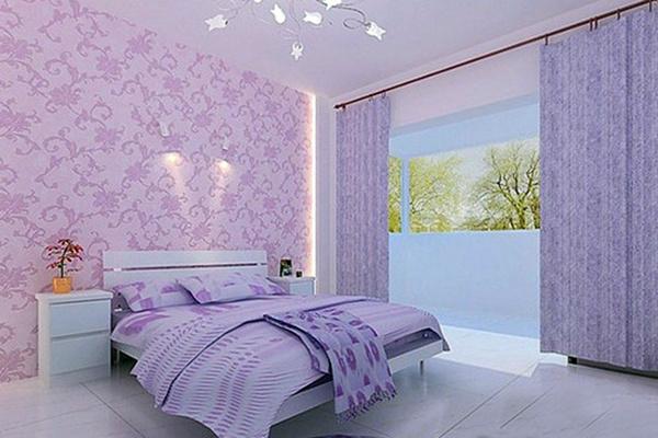 卧室墙纸的优点