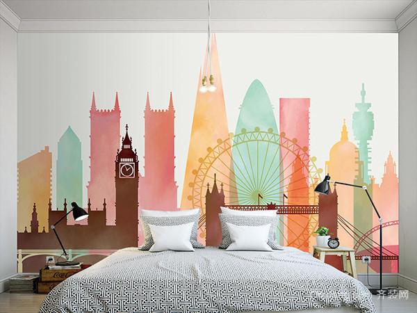 欧式手绘墙纸种类