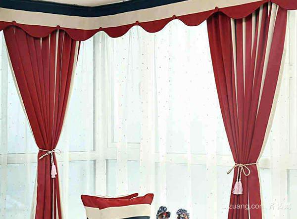 窗帘面料质地的选择