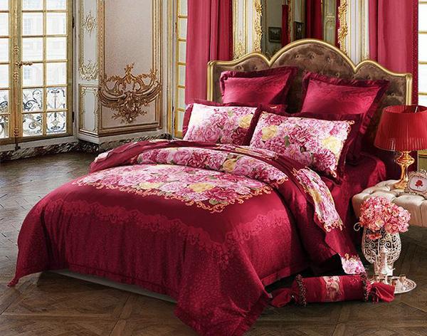看罗莱家纺床上用品材质