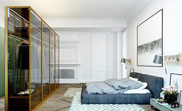 单身公寓卧室设计技巧