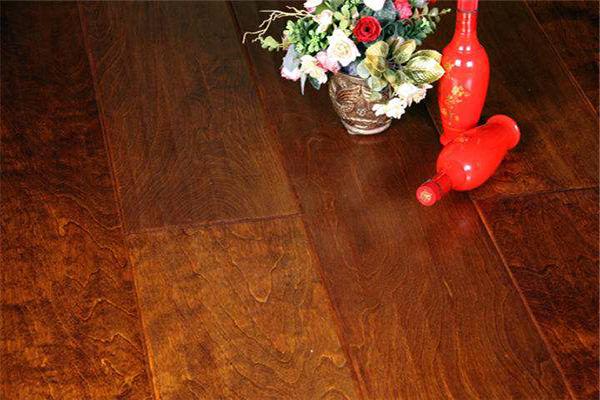 手抓纹复合实木地板—圣象安德森