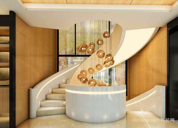 3,简欧式楼梯吊灯选择