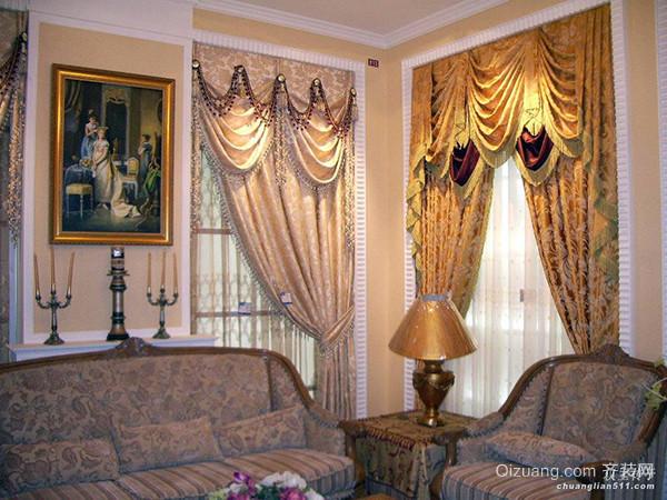 欧式风格窗帘颜色搭配技巧 给你不同选择