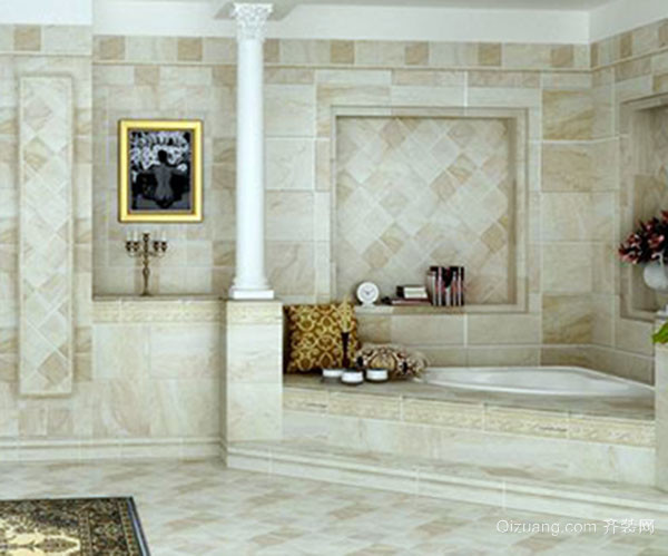 诺贝尔瓷砖-塞尚印象