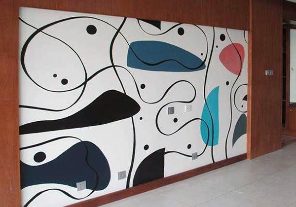 设计手绘墙注意事项 让生活更逼真