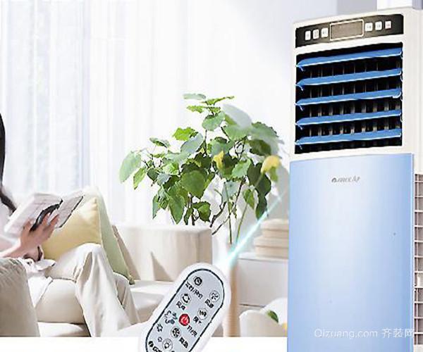 水冷空调扇的使用方法 二、水冷空调扇的使用方法 1、开关按键 空调扇在使用的时候在接通电源后它的电源图案就会亮起,在运行过程中,空调扇初次开启默认为是降温状态,再次开启时它将会重复上次关机时的工作状态,在任何状态下,只要按下了空调扇的开/关键它就能停止工作。 2、定时按键 在空调扇中还有一个定时键,按下定时键之后空调扇的定时功能就会开启,这时大家可以任意选择1-9的定时设置,同时显示出相应的时间。