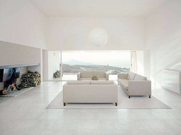 铺设客厅瓷砖优点
