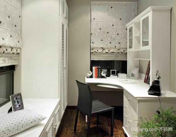 三,小书房设计方案-可调式隔板 可调式隔板高约一米,长度不限,可根据