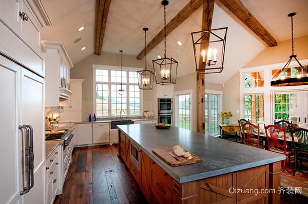 吧台式厨房设计要点
