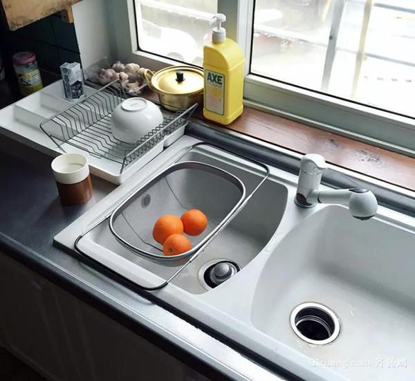 厨房水槽单槽与双槽优缺点pk 老师傅教你一招