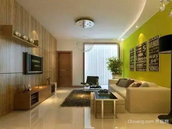 夏季客厅装修墙面处理的效果更好,刷漆前刮的腻子能够慢慢干透,而不
