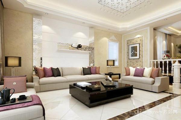 颜色的搭配影响客厅的装修的效果,而客厅的装修效果又影响整个房屋的