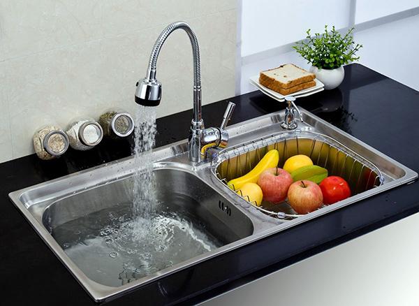 厨房水槽选择技巧