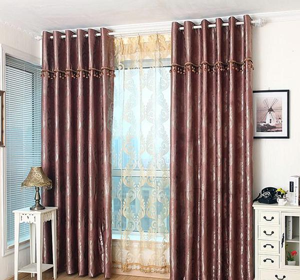 客厅窗帘颜色选择哪种好看