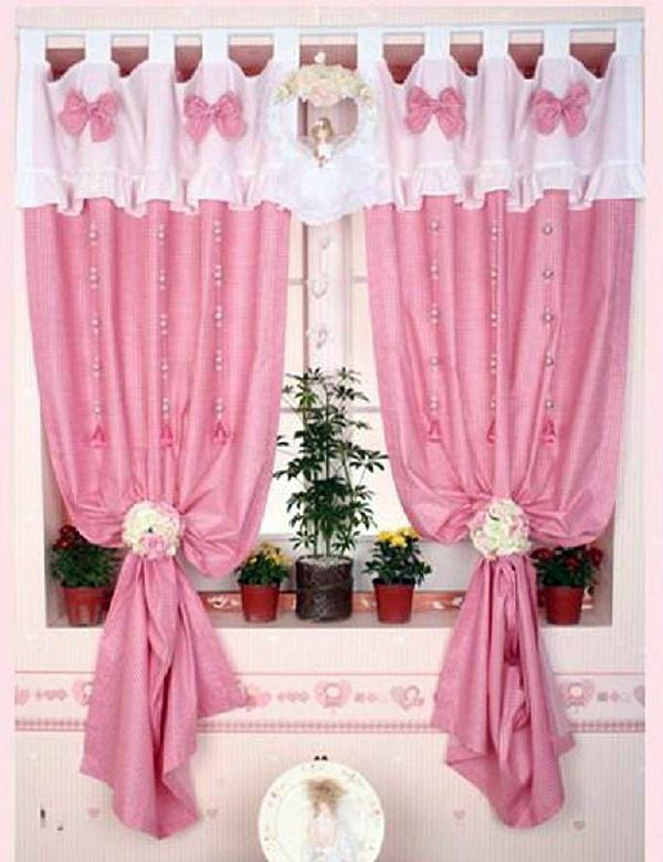不同材质窗帘