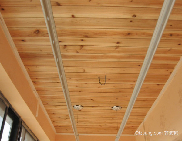 阳台生态木吊顶安装步骤介绍
