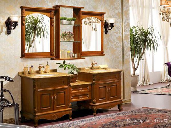 实木浴室柜的优缺点
