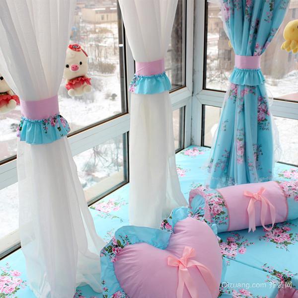 卧室窗帘怎么搭配