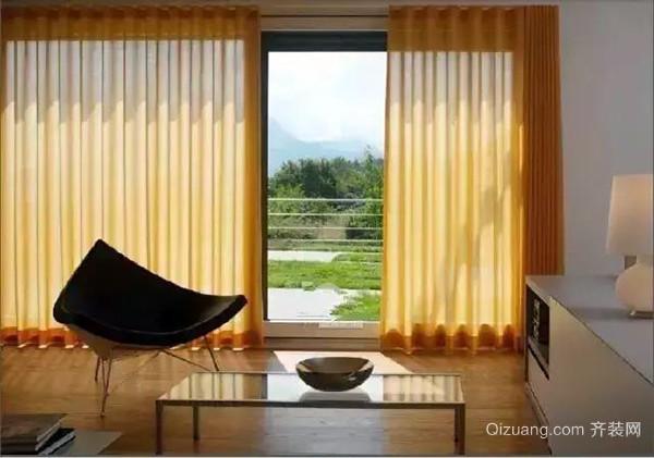 卧室窗帘材质