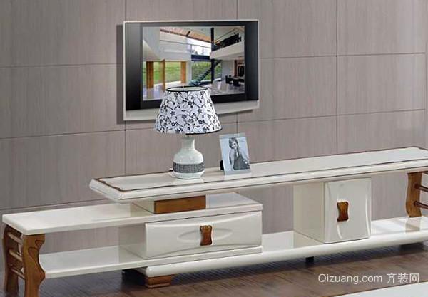 烤漆板材电视柜