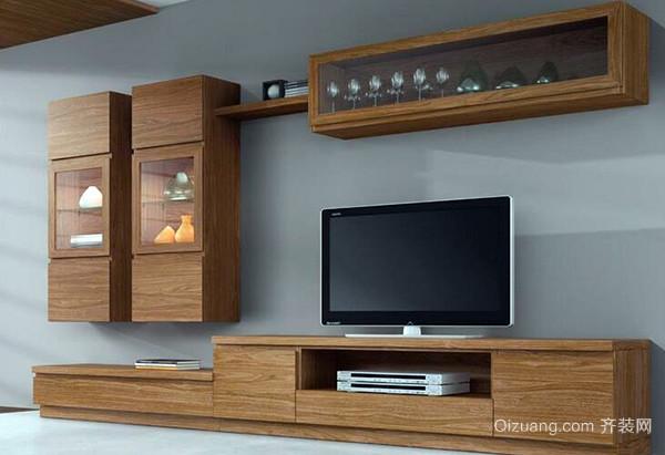 实木板材电视柜