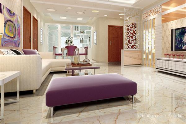 客厅瓷砖风格