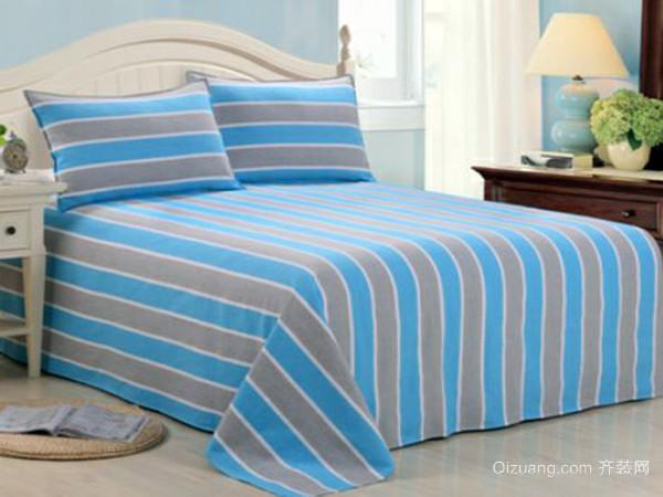 老土布床单