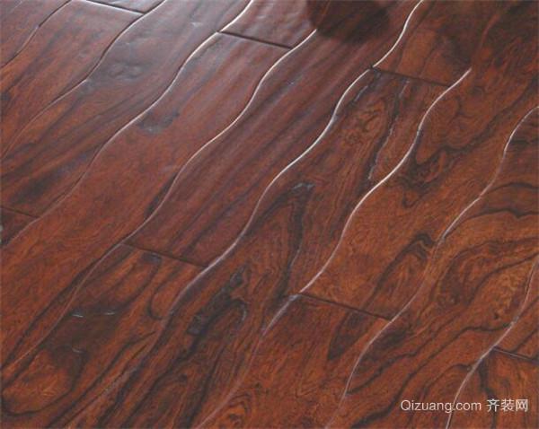 曲线木地板