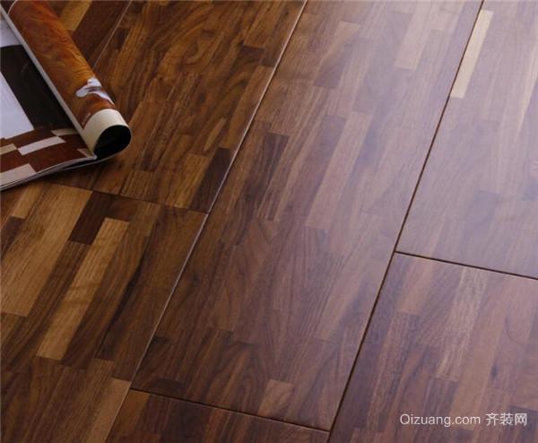 9.5公分木板铺设效果图