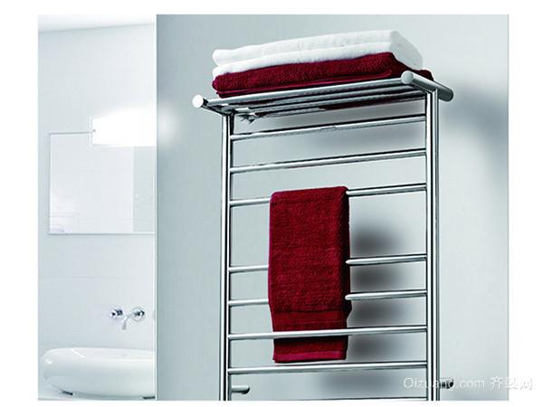 浴室毛巾架安装
