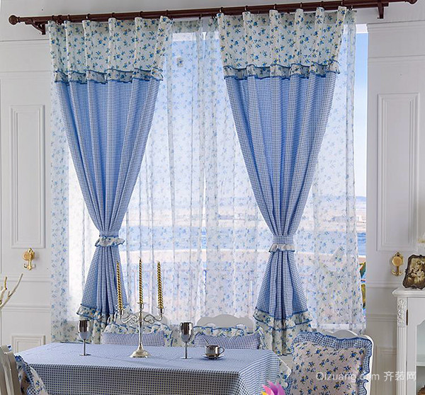 全落地窗帘有哪些样式