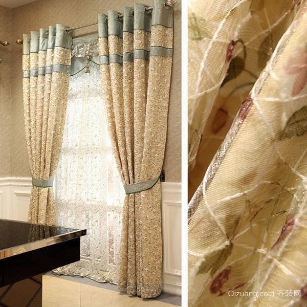 客厅窗帘怎么挑选