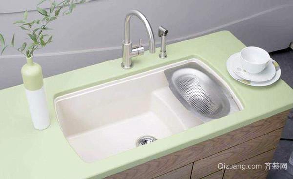 陶瓷水槽安装
