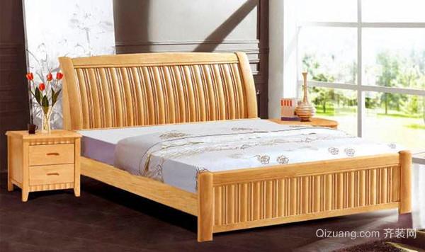 实木床该怎么挑选