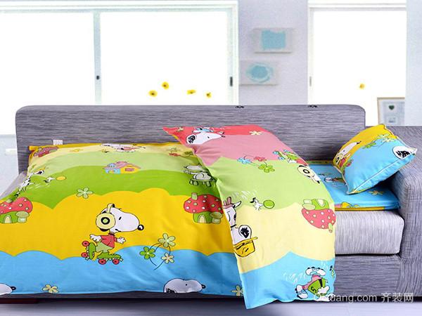 儿童床上用品面料解析