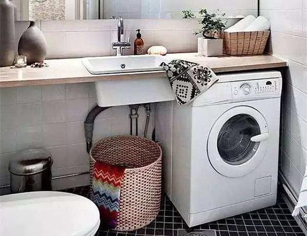 洗衣机放什么地方好