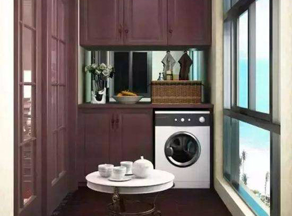 洗衣机放什么地方比较好