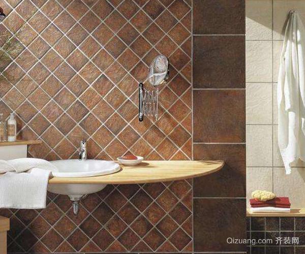 卫生间仿古砖
