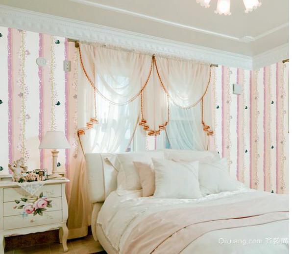 欧式床头窗帘选择注重细节