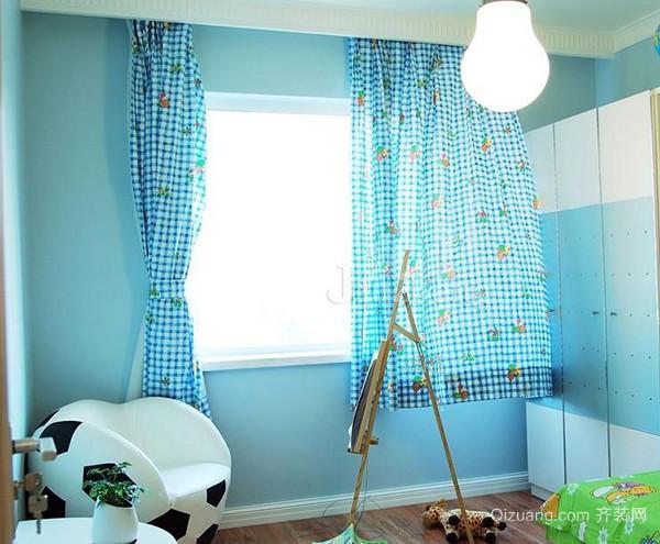 欧式床头窗帘选择