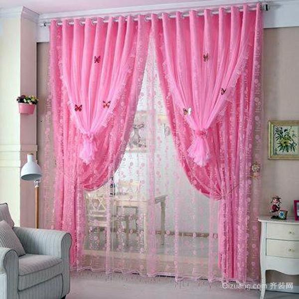 飘窗窗帘风格