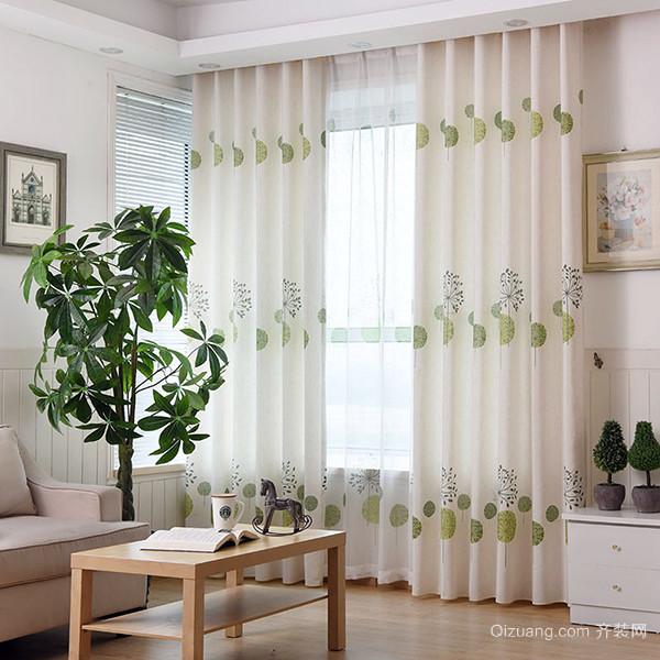 布艺窗帘的材质