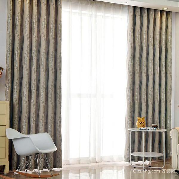 布艺窗帘的材质好
