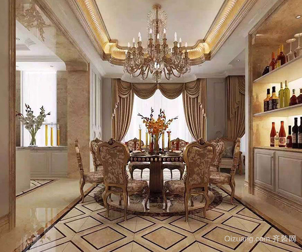 在我国喜欢古典欧式风格的家庭不多,但也有人喜欢古典欧式的大气豪华感,所以在古典欧式装修上选择色泽柔和、纹理均匀、细致、有光感的仿石材瓷砖,颜色上不能太深也不能浅,最好是黄色或浅咖啡色等中等色调。 二、瓷砖风格搭配-现代欧式 现代欧式既有欧式的古典风味也有现代的时尚感,所以在瓷砖的选择上浅色调的白色等仿大理石瓷砖、仿大理石纹理仿石材瓷砖是不二之选。
