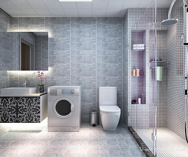 卫生间瓷砖风格搭配