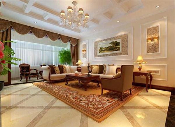 廊坊装潢客厅要做石膏线吗